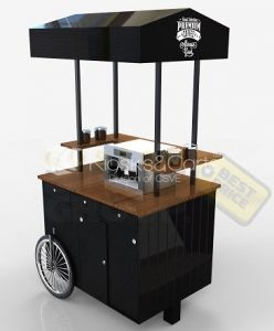 Custom Made Coffee Carts